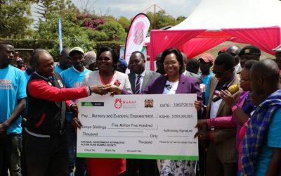 Kiambu Bursary and Economic empowerment cheques